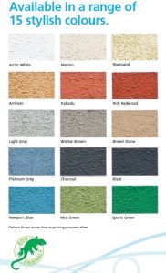 Poolside & Paving Colour Chart