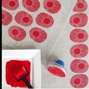 Block Printing with Permaset