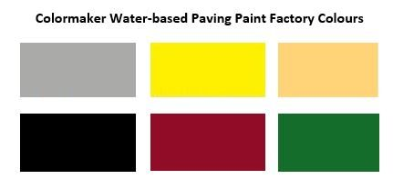 Water-based Paving Paint_Factory_Colours