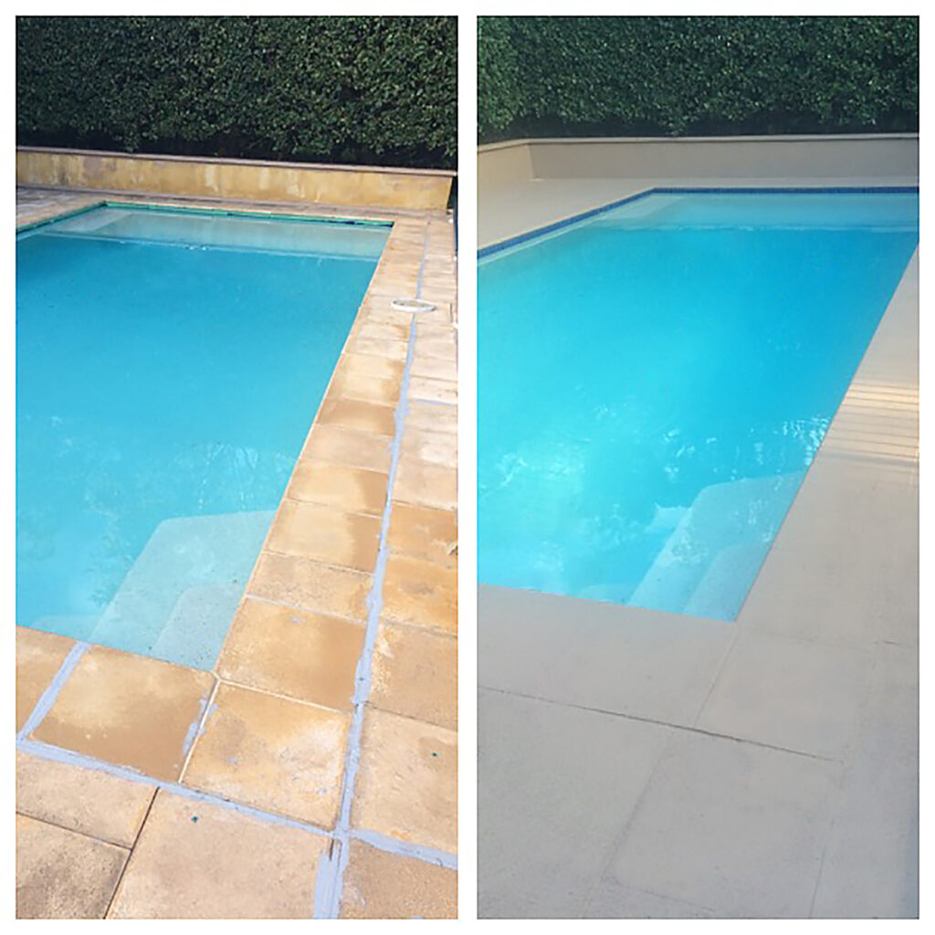 Paving Paint for Pool Surrounds