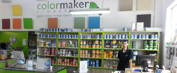 , The Colormaker Paint Shop